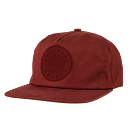 Spitfire Spitfire OG Swirl Patch Snapback Hat (brick)