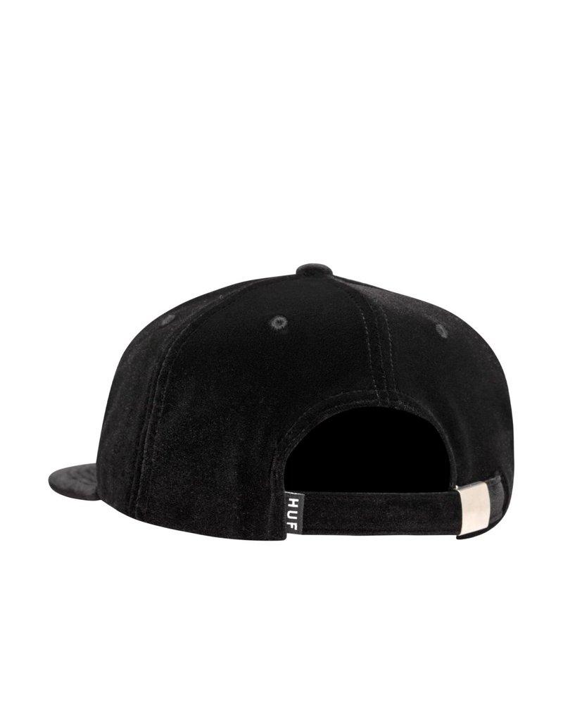 Huf Huf Bed Of Roses 6 Panel Hat (black)