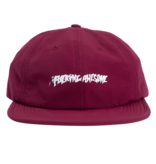Fucking Awesome Fucking Awesome Stamp 6 Panel Hat (maroon)