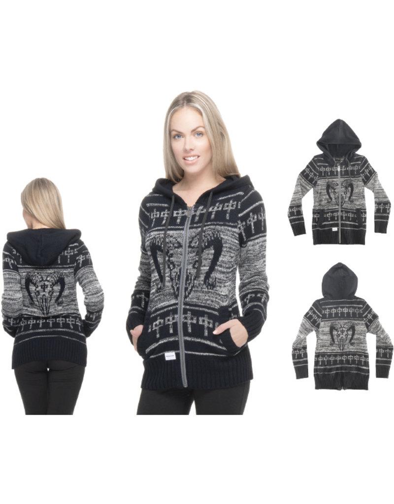 RDS RDS Ram Zip Sweater