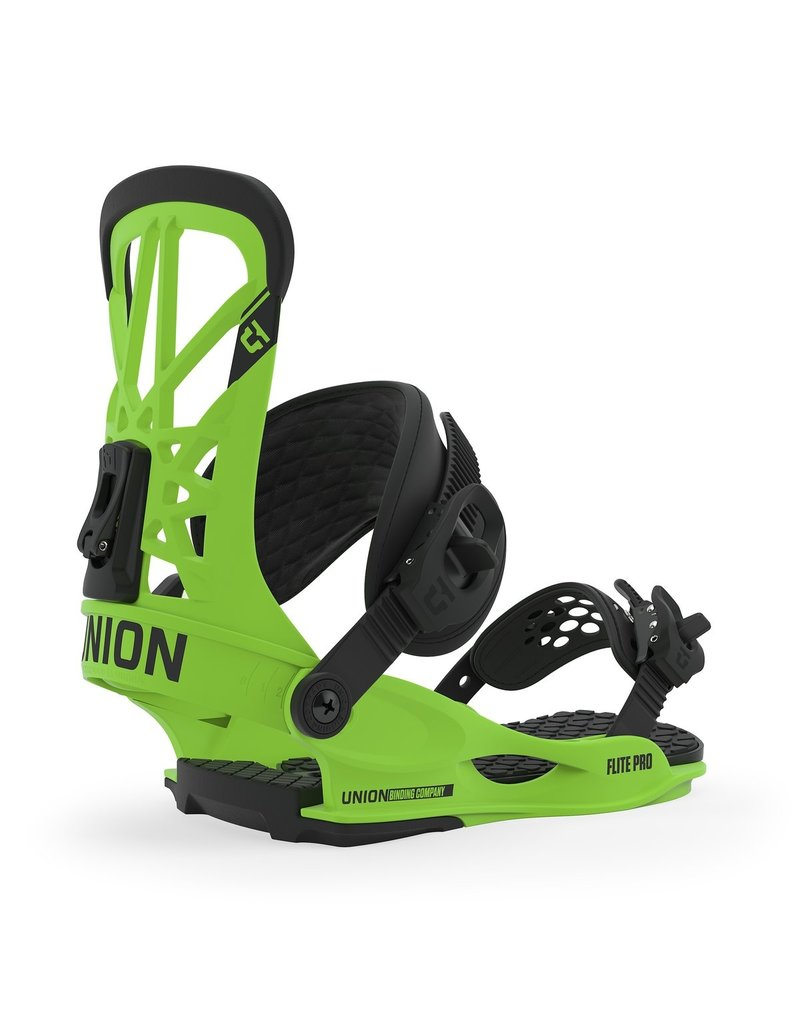 Union Flite Pro Bindings Acid Green