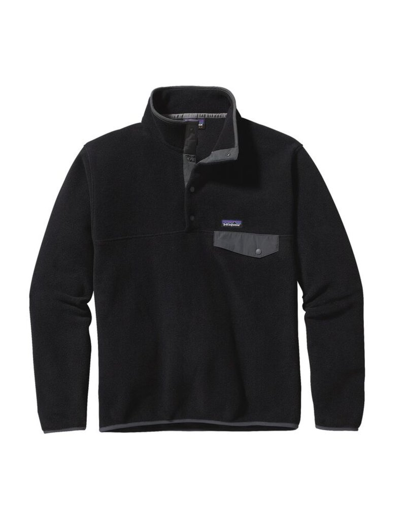 patagonia synch snap t sweater black forge grey canada