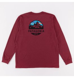 Patagonia Patagonia L/S Fitz Roy Scope R T-Shirt