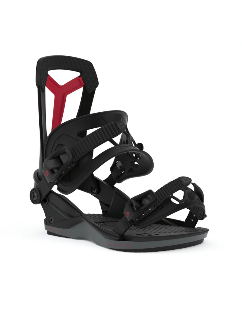 UNION FALCOR BINDINGS black red CANADA