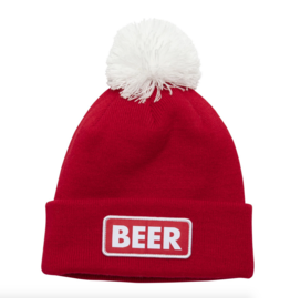 Coal Coal Vice Beanie Beer Red