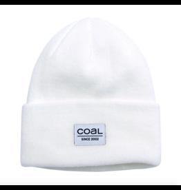 Coal Coal Standard Beanie White