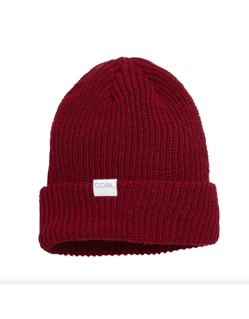 Coal Coal Stanley Beanie Dark Heather Red