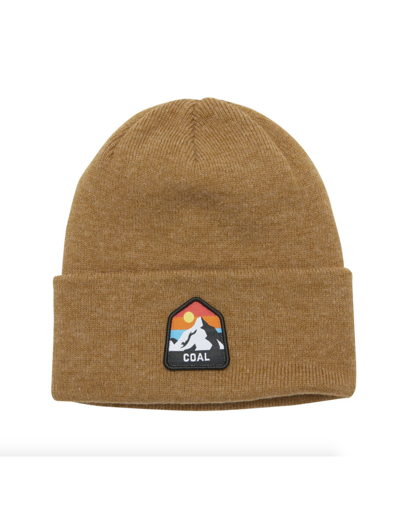 Coal Coal Peak Beanie Heather Mustard