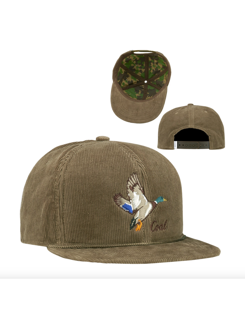 Coal Coal Wilderness Duck Hat Light Brown