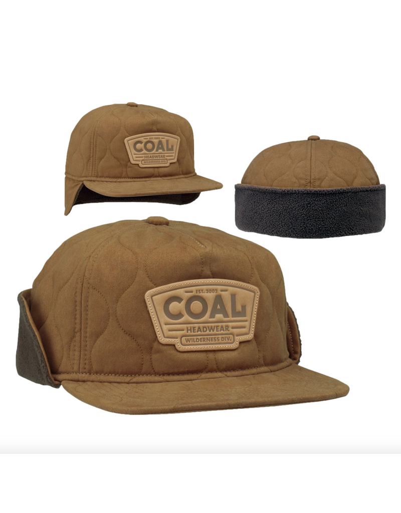 Coal Coal Cummins Hat M Light Brown