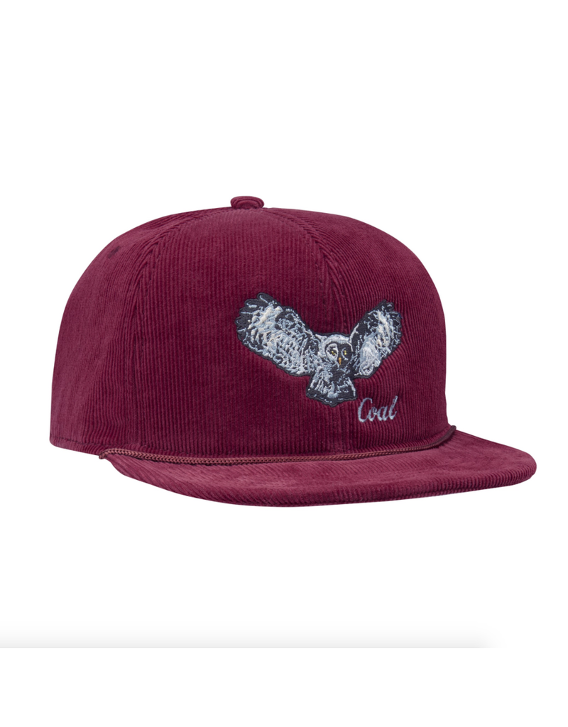 Coal Coal Wilderness Hat Owl Burgundy