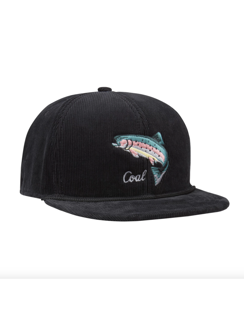 Coal Coal Wilderness Fish Hat Black