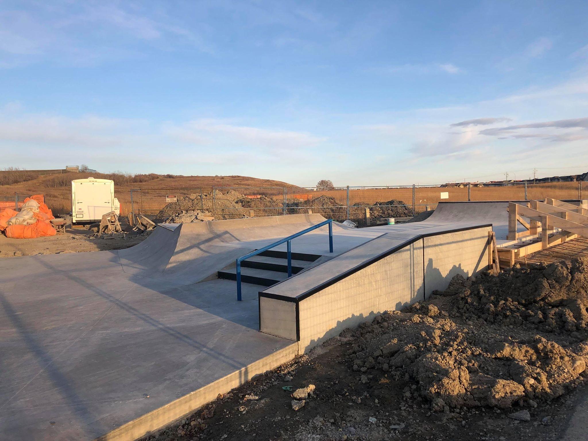 Rocky Ridge Skatepark Opening Soon