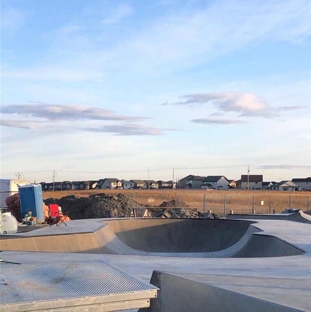 Rocky Ridge Skatepark bow Calgary