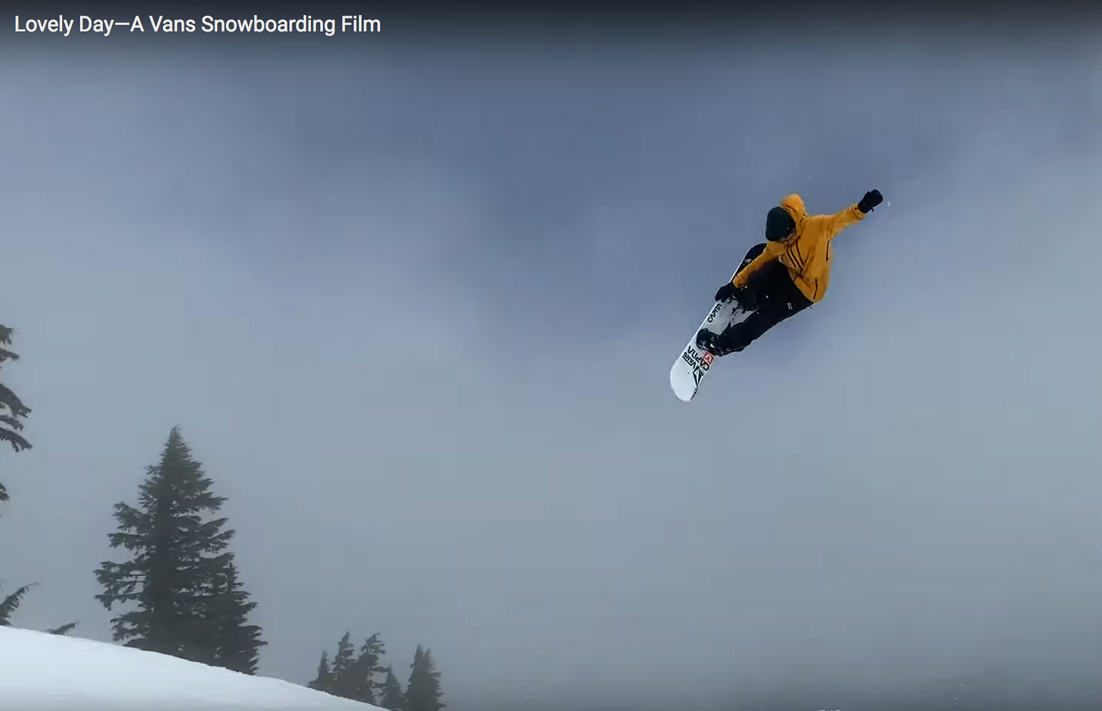 "Vans Snowboarding Releases ""Lovely Day"" Video"
