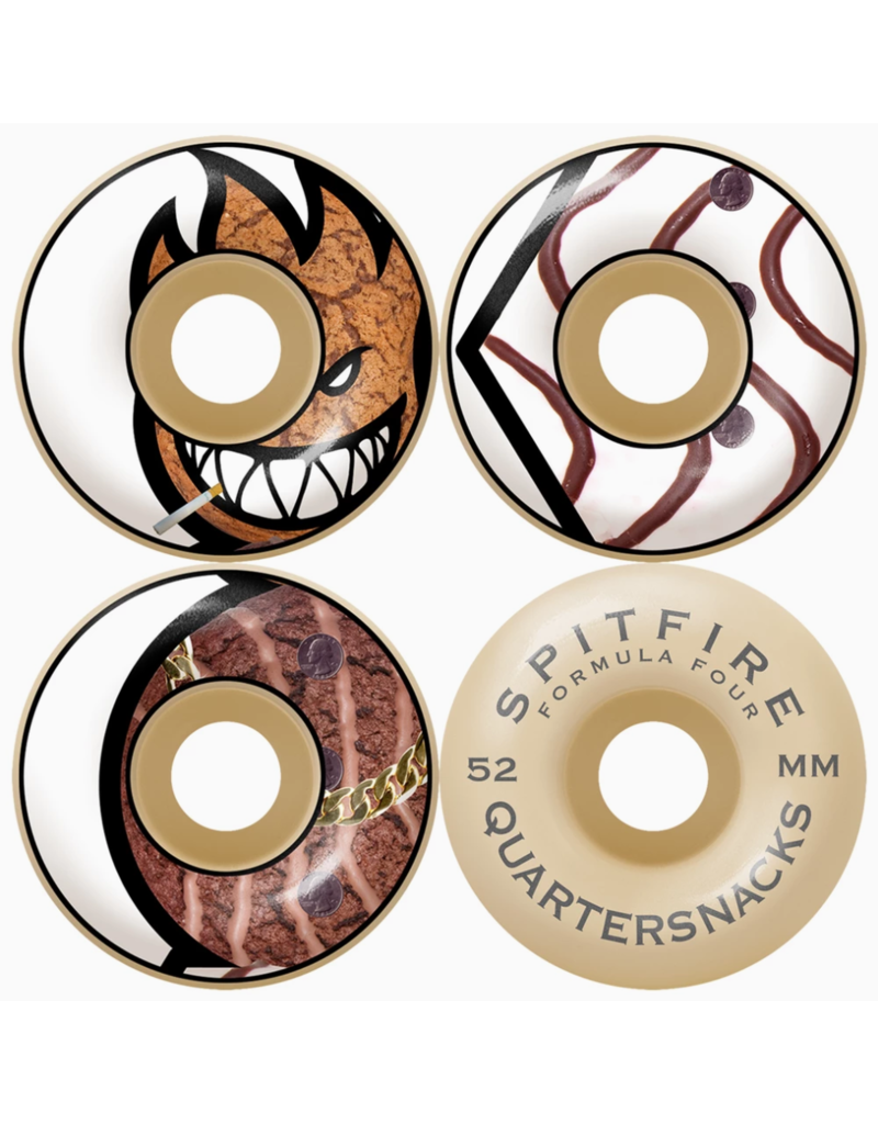 Spitfire Spitfire X Quartersnacks F4 99D Wheels (52mm)