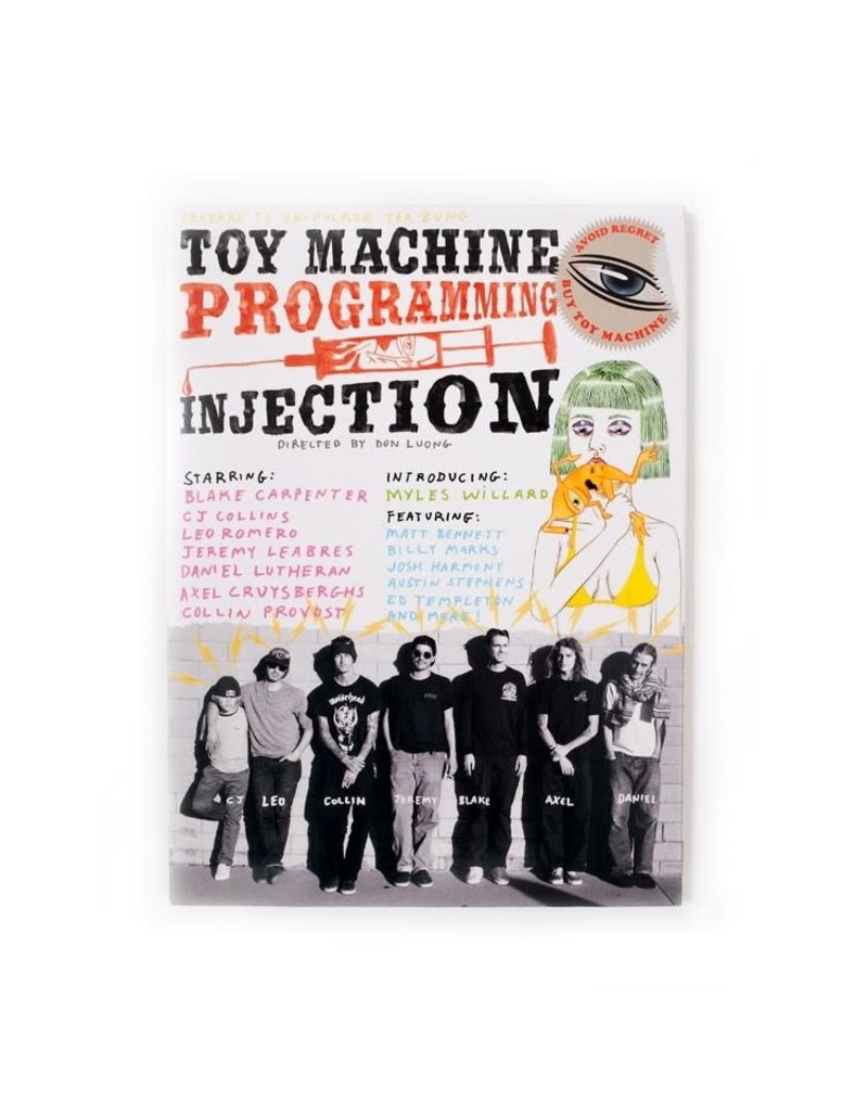 Toy Machine Toy Machine Programming Injection Video DVD
