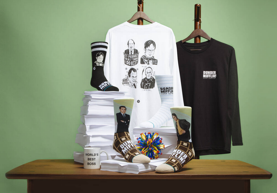 Stance X Dunder Mifflin Collection - The Office
