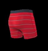 Saxx Saxx Vibe Boxers Red Shallow Stripe