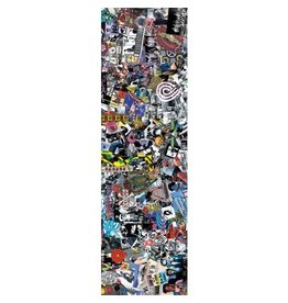 "Powell Peralta Powell Peralta Collage Griptape Sheet (10.5"")"