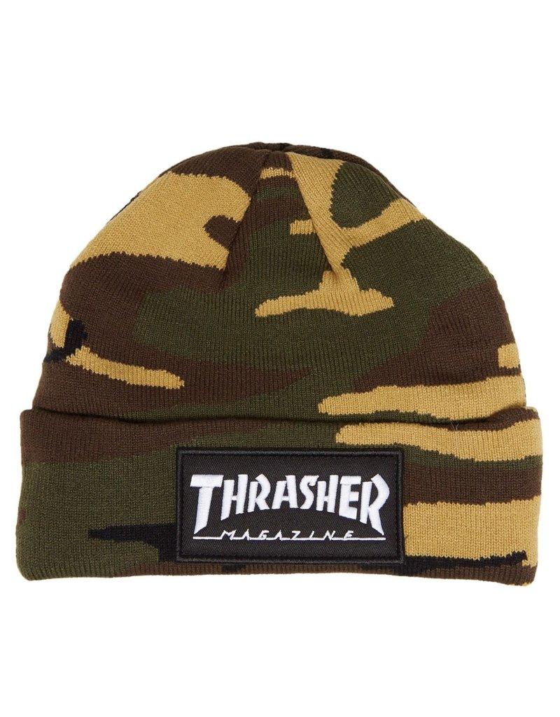Thrasher Thrasher Logo Patch Beanie (camo)
