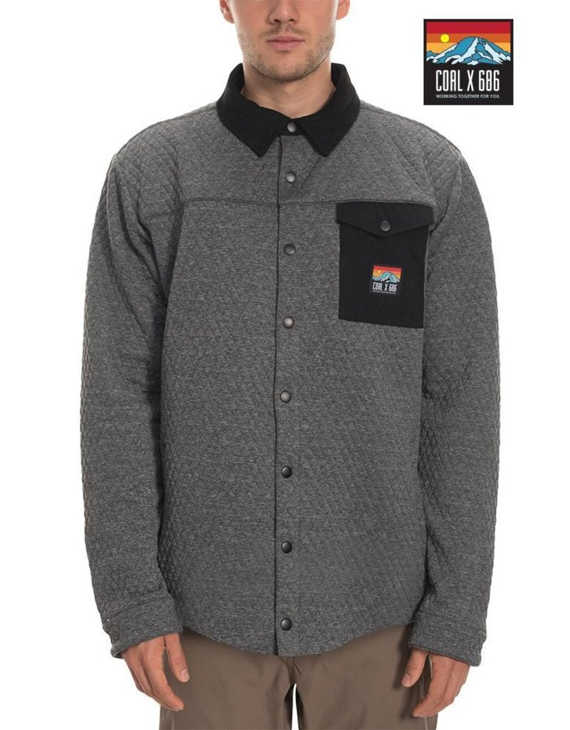 686 Coal Insulated Jacket