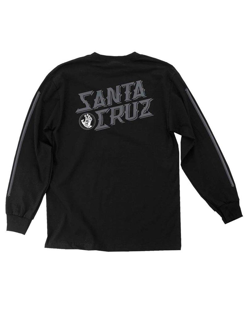 Santa Cruz Hand Stamp L/S T-Shirt