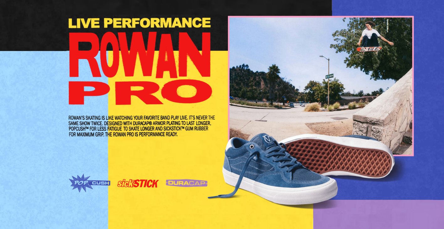Vans Rowan Zorilla Pro Shoes