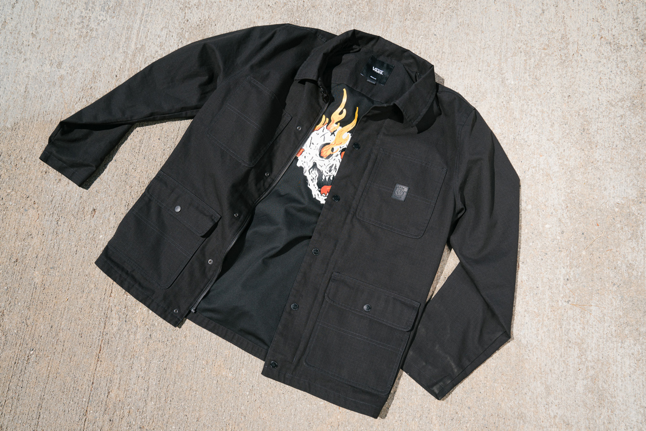 Vans Drill Rowan Jacket Black