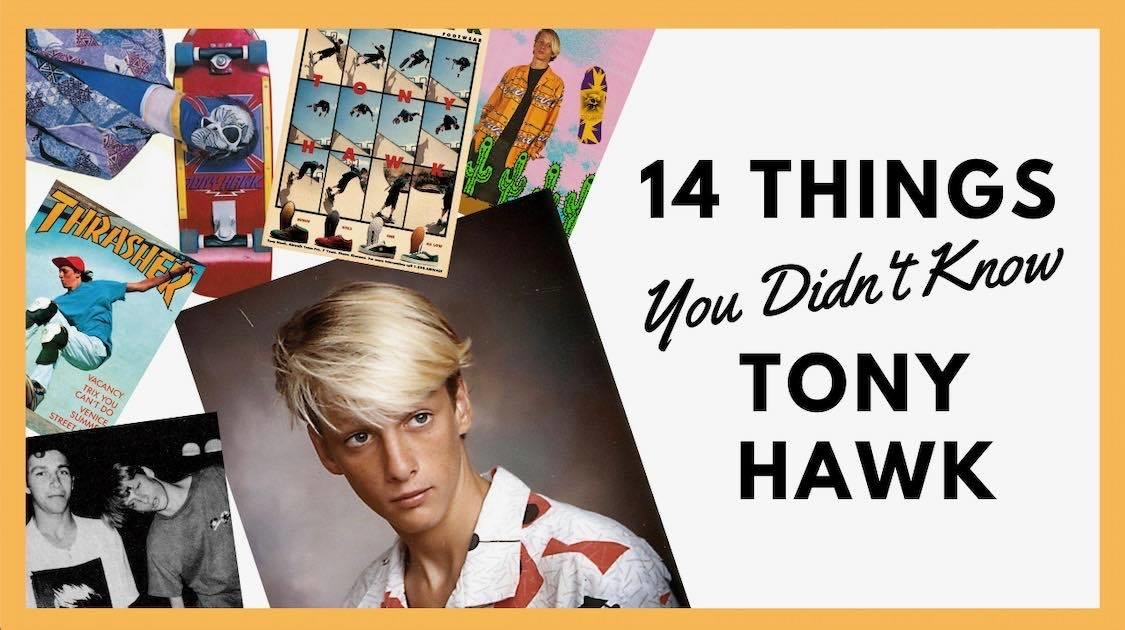 14 Things You Didn't Know About Tony Hawk