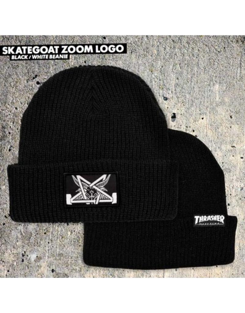 4f014492376 Thrasher Thrasher Skategoat Zoom Beanie - Shredz Shop
