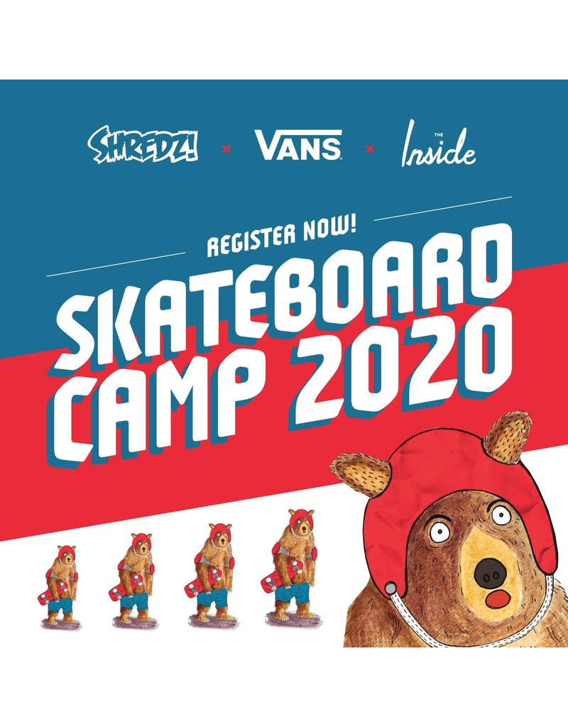 Shredz Skateboard Camp Alberta
