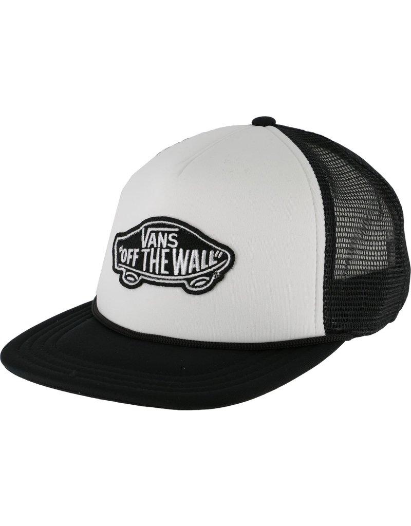 Vans Vans Classic Patch Trucker Hat (White/Black)