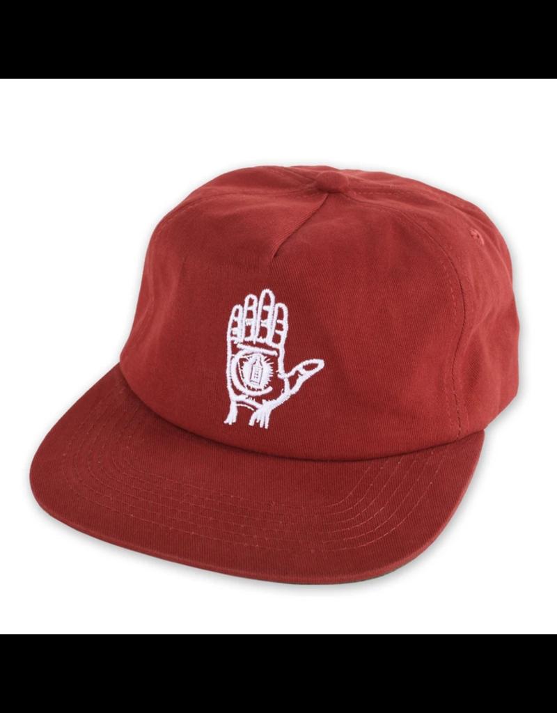 Theories Theories Hand Of Theories Strapback Hat (Crimson)