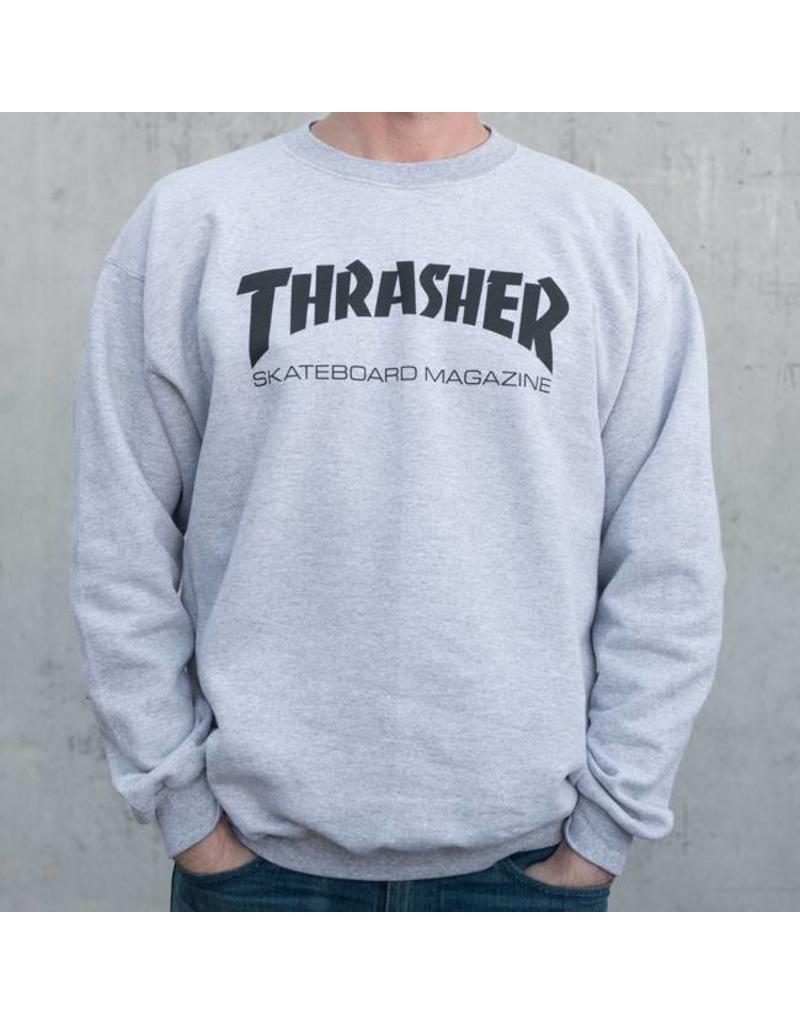 97d3a8b843a Thrasher Skate Mag Crew Neck Grey - Shredz Shop