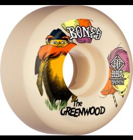Bones Bones STF Greenwood Sidecut Wheels V5 (52mm)