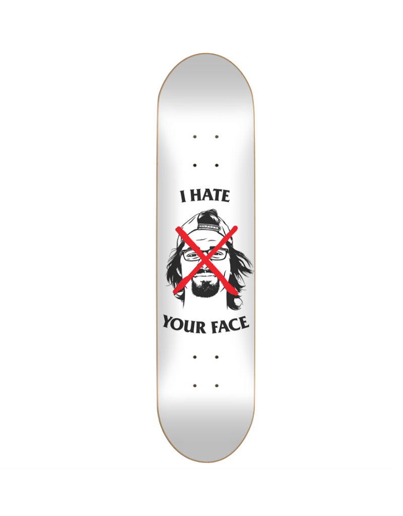 Skate Mental I Hate Your Face Plunkett Deck (8.25)