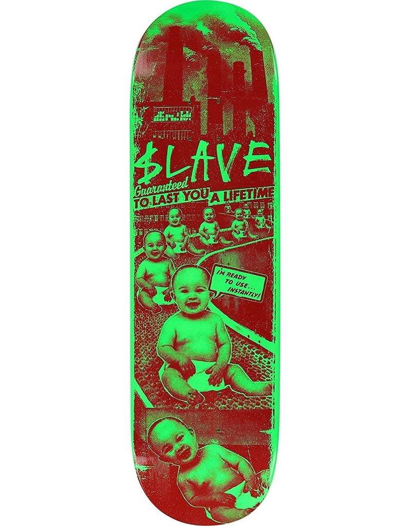 Slave Toxic Babies Deck Green (8.5)