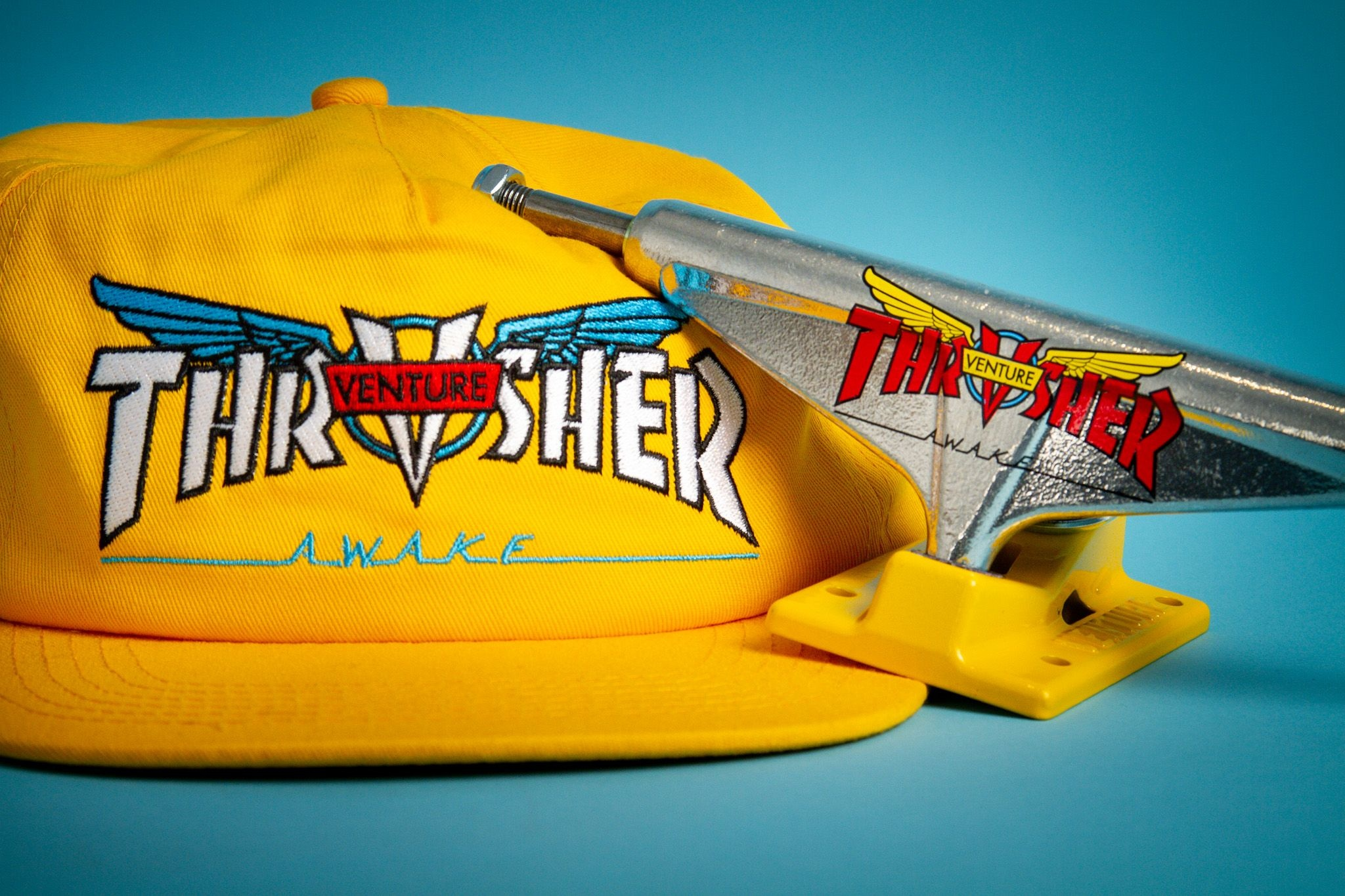 Thrasher x Venture Trucks Collection