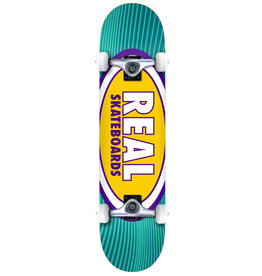 Real Real Oval Rays (8.25) Skateboard Complete