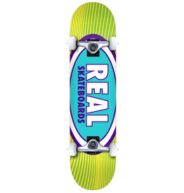 Real Real Oval Rays (7.75) Skateboard Complete