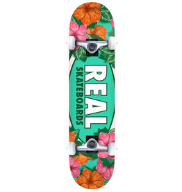 Real Real Oval Blossoms (8.25) Skateboard Complete