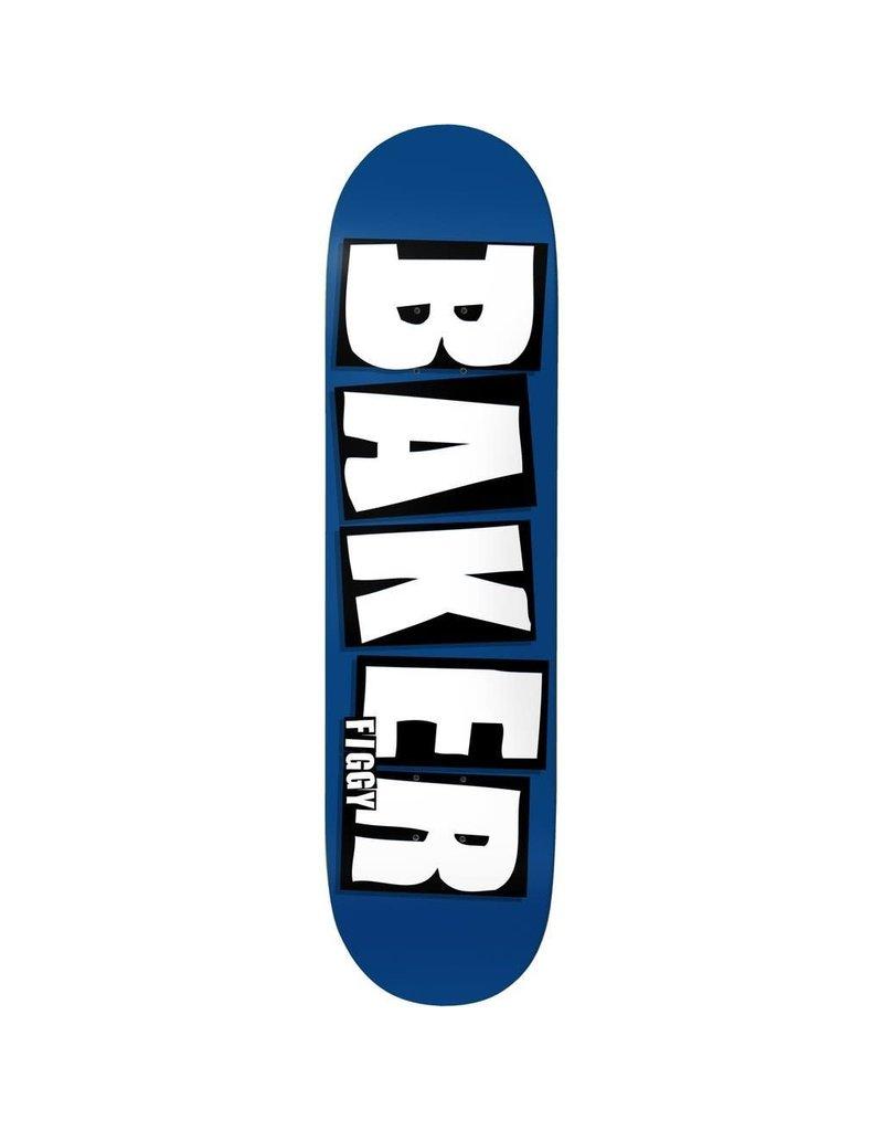 Baker Baker Figgy Brand Name Deck Blue (8.125)