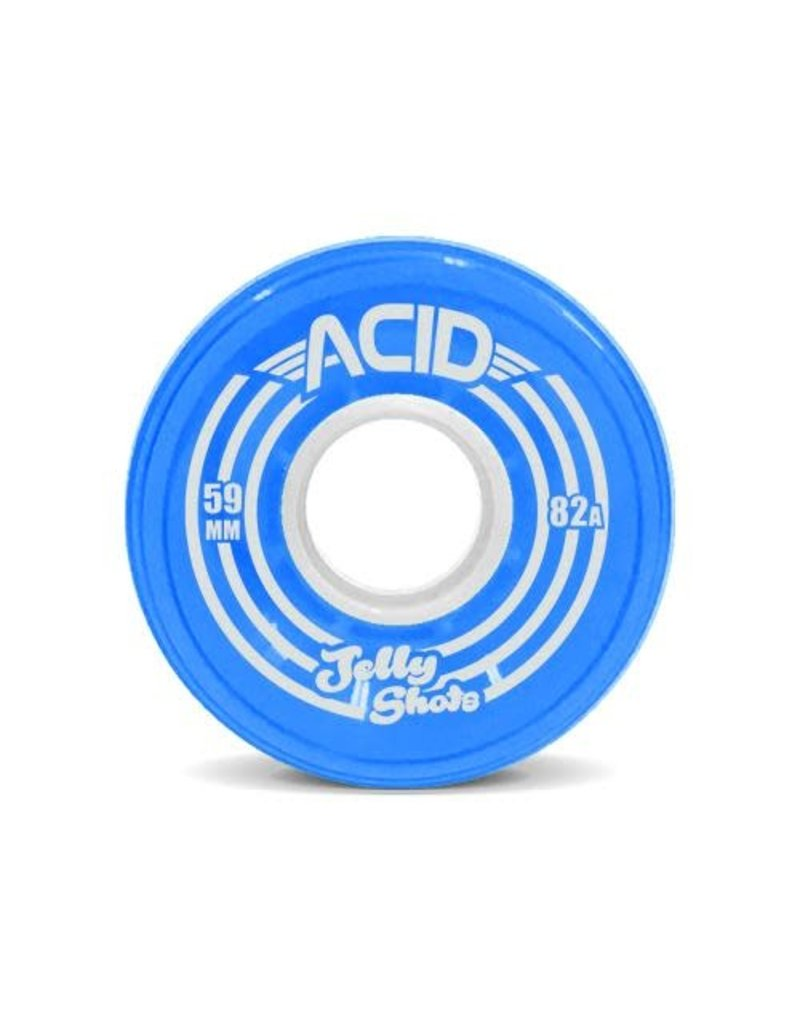 Acid Wheels Acid Jelly Shots Cruiser Soft Wheels (59mm) Blue