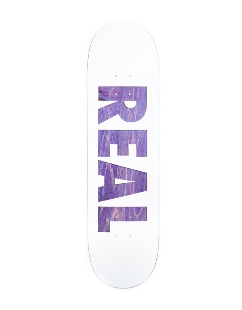 Real Real Bold Series Deck White (8.5)