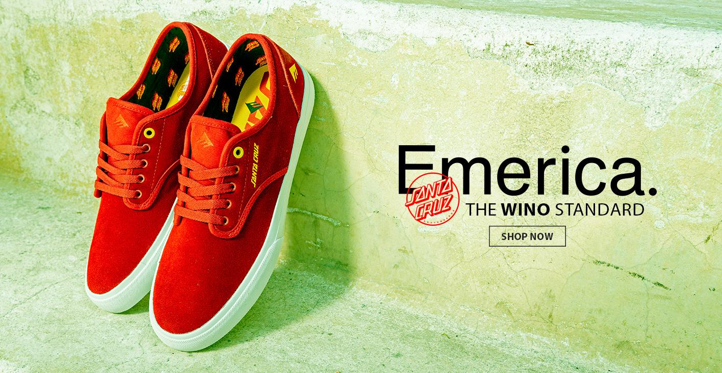 Emerica x Santa Cruz Wino Shoes