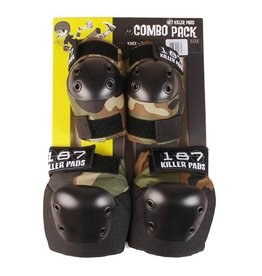 187 187 Pads Combo Pack (Knee/Elbow)