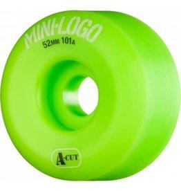 Mini Logo Blank Wheels 101A (54mm) A-Cut green
