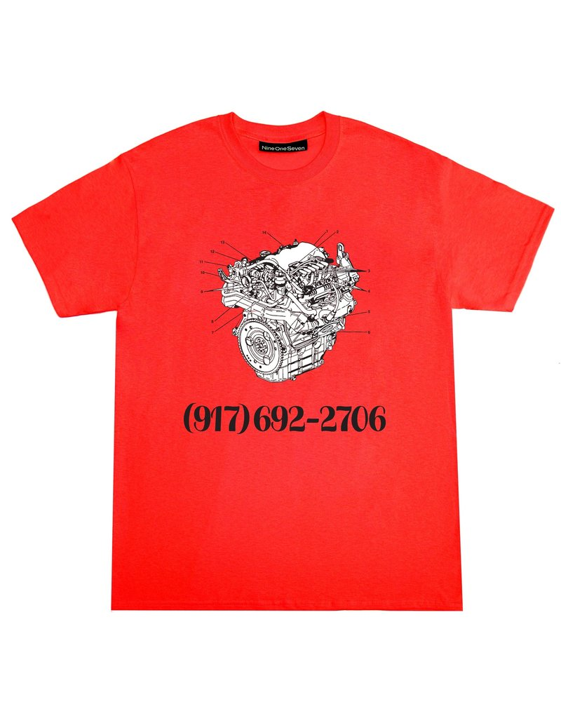 Call Me 917 Call Me 917 Engine Dialtone T-Shirt