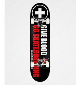 ATM ATM Give Blood Skateboard Complete (8.0)